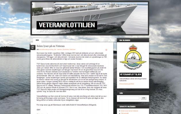 Veteranflottiljen på FM blogg