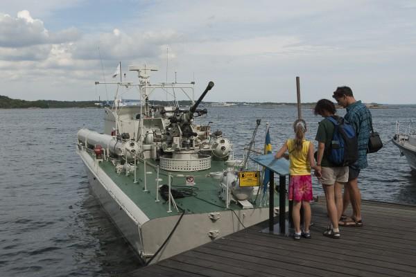 T38 förtöjt Marinmuseum