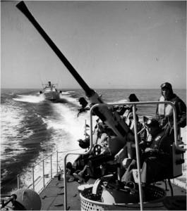 Artilleriet på T38