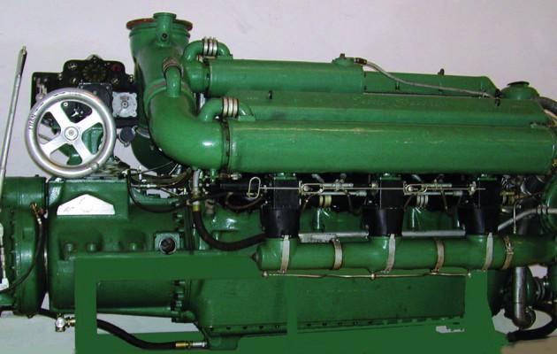 Marinens motortyper i MTB