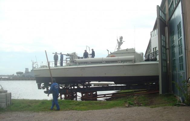 T38 är sjösatt