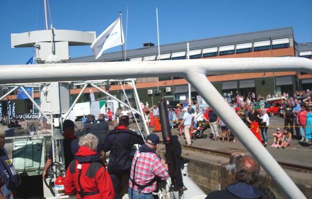 Besök i Karlshamn den 22 juli
