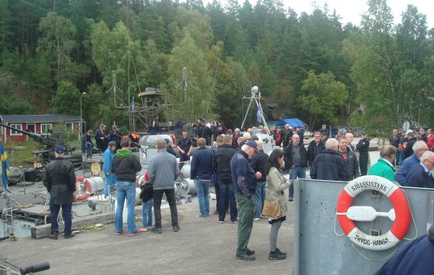 EDIP på Gålöbasen 9 september